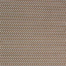 Chocolate/Camel Herringbone Decorator Fabric by Lee Jofa