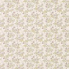 Beige/Purple/Green Botanical Decorator Fabric by Kravet