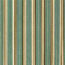 Light Blue/Green/Beige Stripes Decorator Fabric by Kravet