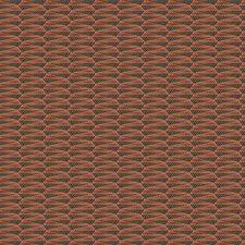 Spice Navy Geometric Decorator Fabric by S. Harris