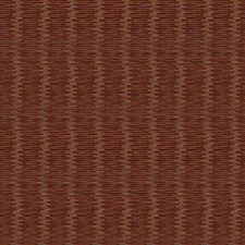 Paprika Stripes Decorator Fabric by S. Harris
