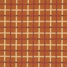 Mandarin Check Decorator Fabric by Fabricut