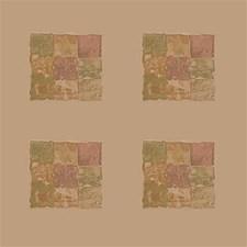 Beige/Green/Brown Modern Decorator Fabric by Kravet