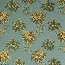 Water Blue Tropical Decorator Fabric by Kravet