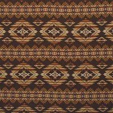 Black/Brown/Beige Figurative Decorator Fabric by Kravet
