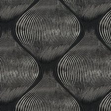 Soft Black Decorator Fabric by Robert Allen