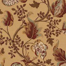 Honey and Smoke Decorator Fabric by Schumacher