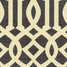 Parchment/Midnight Decorator Fabric by Schumacher