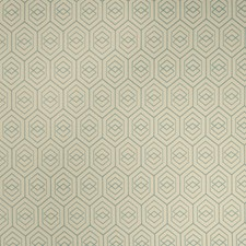 Island Blue Geometric Decorator Fabric by Fabricut