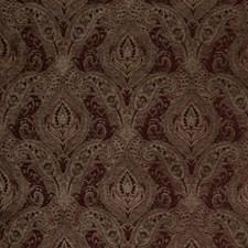 Cranberry Paisley Decorator Fabric by Fabricut