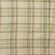 Beige/Green/Brown Plaid Decorator Fabric by Kravet