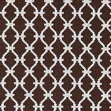 Espresso Jacquard Decorator Fabric by Scalamandre