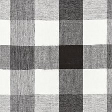 Noir CHATHAM STRIPES Decorator Fabric by Scalamandre