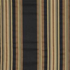 Black/Yellow Stripes Decorator Fabric by Kravet