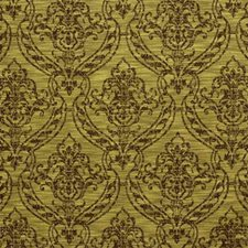 Brown/Light Green Bargellos Decorator Fabric by Kravet