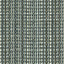 Blue/Brown/White Stripes Decorator Fabric by Kravet