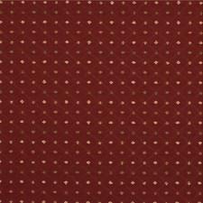 Burgundy/Red/Beige Diamond Decorator Fabric by Kravet
