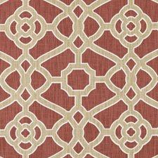 Red Decorator Fabric by Robert Allen /Duralee