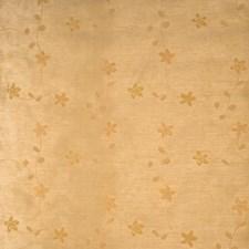 Butterscotch Floral Decorator Fabric by Fabricut