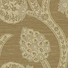 Beige Botanical Decorator Fabric by Kravet