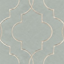 Light Blue/White Small Scales Decorator Fabric by Kravet