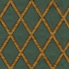 Green/Yellow Diamond Decorator Fabric by Kravet