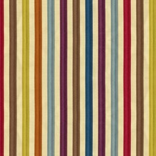 Citron Plum Stripes Decorator Fabric by Kravet
