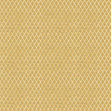 Yellow/White Diamond Decorator Fabric by Kravet