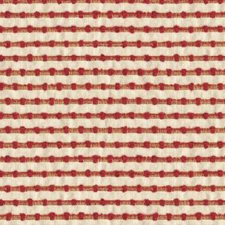 White/Burgundy/Red Stripes Decorator Fabric by Kravet
