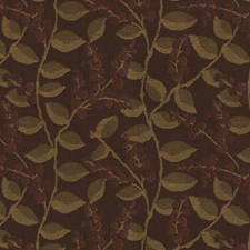 Copper Botanical Decorator Fabric by Kravet