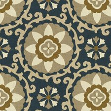 Sapphire Botanical Decorator Fabric by Kravet