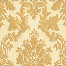 White Gold Damask Decorator Fabric by Kravet