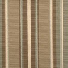 Aqua/cocoa Decorator Fabric by Duralee