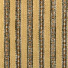 Yellow Stripe Decorator Fabric by Duralee
