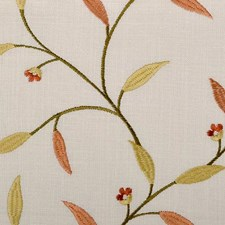 Autumn Embroidery Decorator Fabric by Duralee