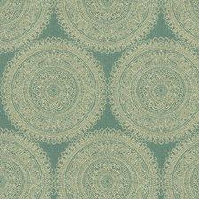 Light Blue/White Modern Decorator Fabric by Kravet
