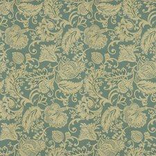Blue/White Jacobeans Decorator Fabric by Kravet