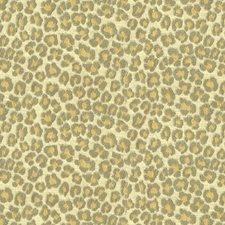 White/Grey/Yellow Animal Skins Decorator Fabric by Kravet