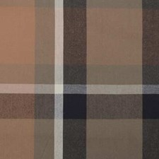 Linen/Charcoal Plaid Decorator Fabric by Duralee