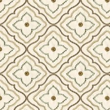 Beige/Brown/Grey Modern Decorator Fabric by Kravet