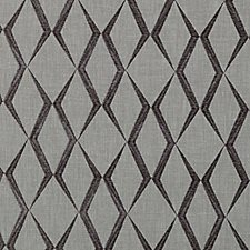 Charcoal Diamond Decorator Fabric by Duralee