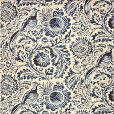 Blue Decorator Fabric by Clarence House