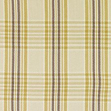 Natural/Gold Plaid Decorator Fabric by Duralee