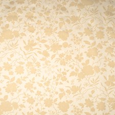 Cream Floral Decorator Fabric by Fabricut