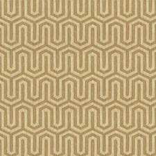 Beige/Brown Modern Decorator Fabric by Kravet