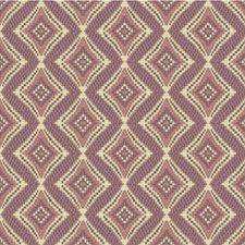 Ivory/Lavender/Purple Diamond Decorator Fabric by Kravet