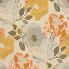Orange/Gold/Grey Decorator Fabric by Kravet