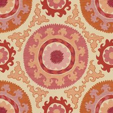 Fuschia Ethnic Decorator Fabric by Kravet
