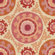 Fuschia Ethnic Decorator Fabric by Kravet