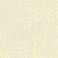 Ivory/Beige Botanical Decorator Fabric by Kravet